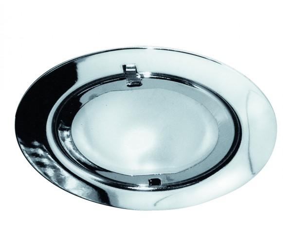 Möbel EBL Set Klipp Klapp 3x20W 70VA 230/12V G4 72mm Chrom/Stahlblech/Glas