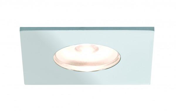 Möbel EBL Set Mini eckig LED 5x1W 2700K 6VA 230V/350mA 35x35mm Chrom Alu