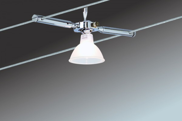 Wire System Togo 150 4x35W GU5,3 Chrom 230/12V 150VA Metall