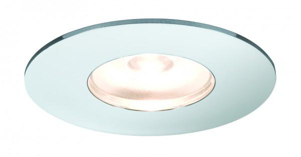 Möbel EBL Set Mini rund LED 5x1W 2700K 6VA 230V/350mA 35x35mm Chrom Alu