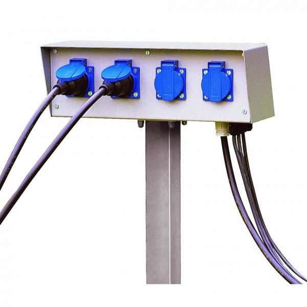 ENERGIE-PACK, 230V, max. 16A, inkl. Erdspiess und Montage- schrauben, IP54