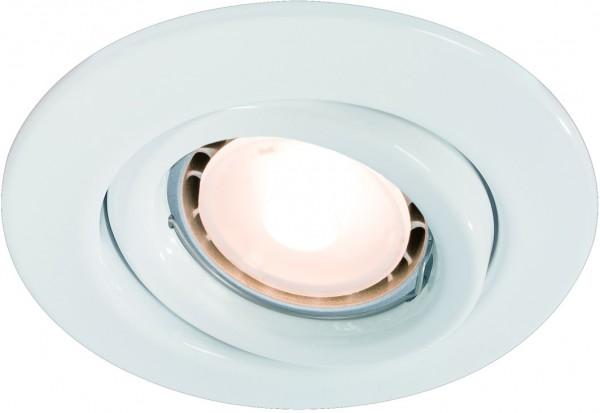 Quality EBL Set schwenkbar LED 3x3,5W 230V GU10 51mm Weiß/Stahlblech