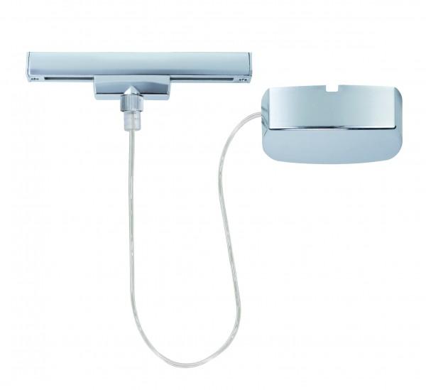 URail System Light&Easy Stromeinspeisung max.1000W Chrom 230V Metall
