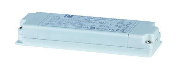 VDE Flat Elektroniktrafo 20-70W 230/12V 70VA Weiß