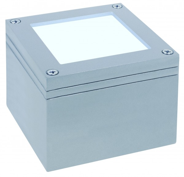 Special ABL Set Wand/Boden LED 1W 230V 100mm Titan/Alu Zink
