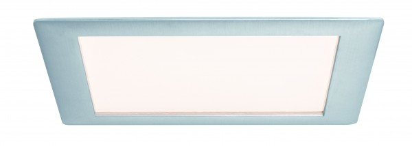 Premium EBL Set Panel eckig LED 1x8W 2700K 8VA 230V/350mA 210mm Alu geb./Alu